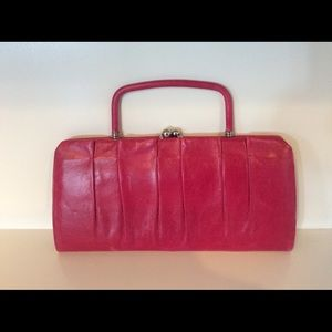 Hobo International Clutch /Purse Leather Pink💖